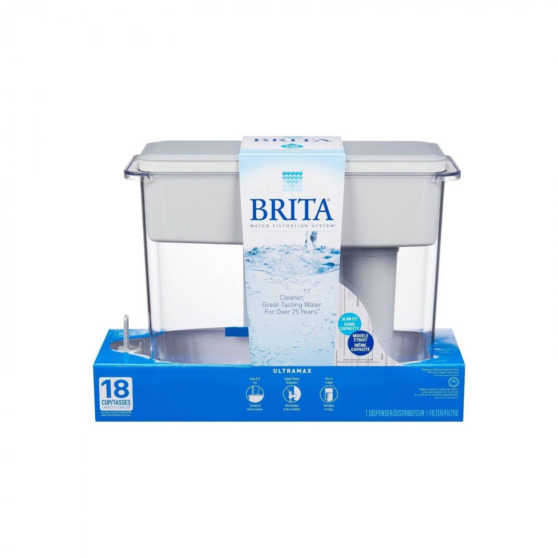 Brita Ultramax 18-Cup Water Filtration Pitcher BRAND NEW