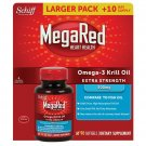 Schiff MegaRed 500 mg Omega-3 Krill Oil Softgels, 90 Count Extra Strength NEW