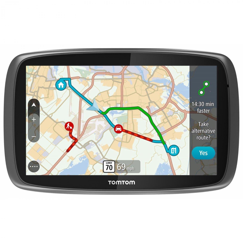 "TomTom GO 600 w/ 6"" Touchscreen Portable Vehicle GPS & Lifetime Maps BRAND NEW"