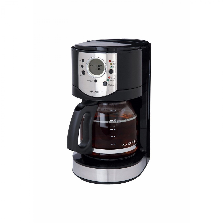 Mr. Coffee 12-Cup Coffee Digital Programmable Coffeemaker Machine BRAND NEW