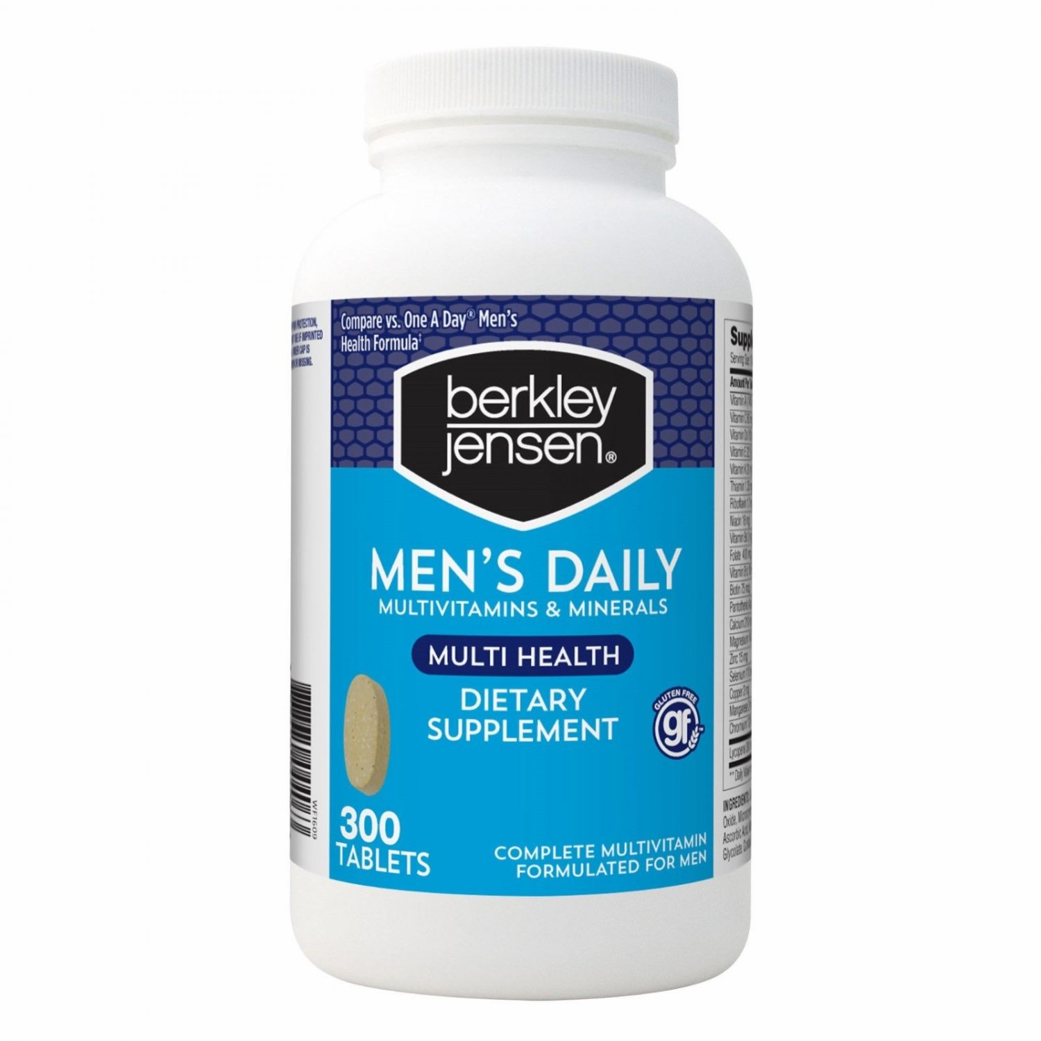 Berkley Jensen Multivitamin Men's 50+, 250 ct