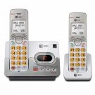 AT&T DECT 6.0 2-Handset Wireless Cordless Home Phone Digital Answering System