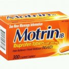 300 ct Motrin ib ibuprofen tablets 200 mg  pain reliever fever reducer NEW