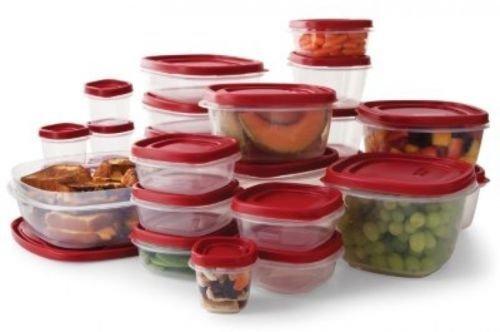 Rubbermaid Easy Find Lids Food Storage Set - 50-piece  BRAND NEW