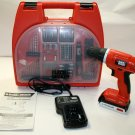 Black & Decker LD120 Drill with Accessories