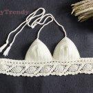 ST012 Crochet Bikini top, DIY Bikini, Handmade Bikini top - FREE SHIPPING