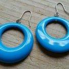 Aqua Blue Teal Earrings