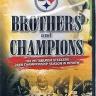 Steelers 2008 Highlight DVD Brothers and Champions