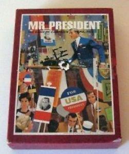 Mr. President / Vintage 3M Bookshelf Game