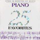 25 Piano Favorites