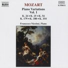 Mozart: Piano Variations, Vol. 1
