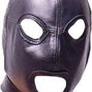 Real leather turtle mask leder hood gimp cuir mask slave kink Halloween Fetish