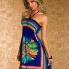 Women Summer Dress 2016 Plus Size Beach Long Sexy Chiffon Dress ITC391.