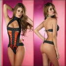 Women Sexy Lingerie New Design Lace Baby Doll Tight Hollow Out Lingerie ITC862.