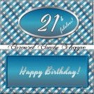 21st Birthday Candy Wrappers Printable DIY