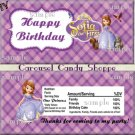 Princess Party Birthday Candy Wrappers Printable DIY