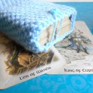 Light blue tarot deck bag, tarot deck holder, tarot deck accessories