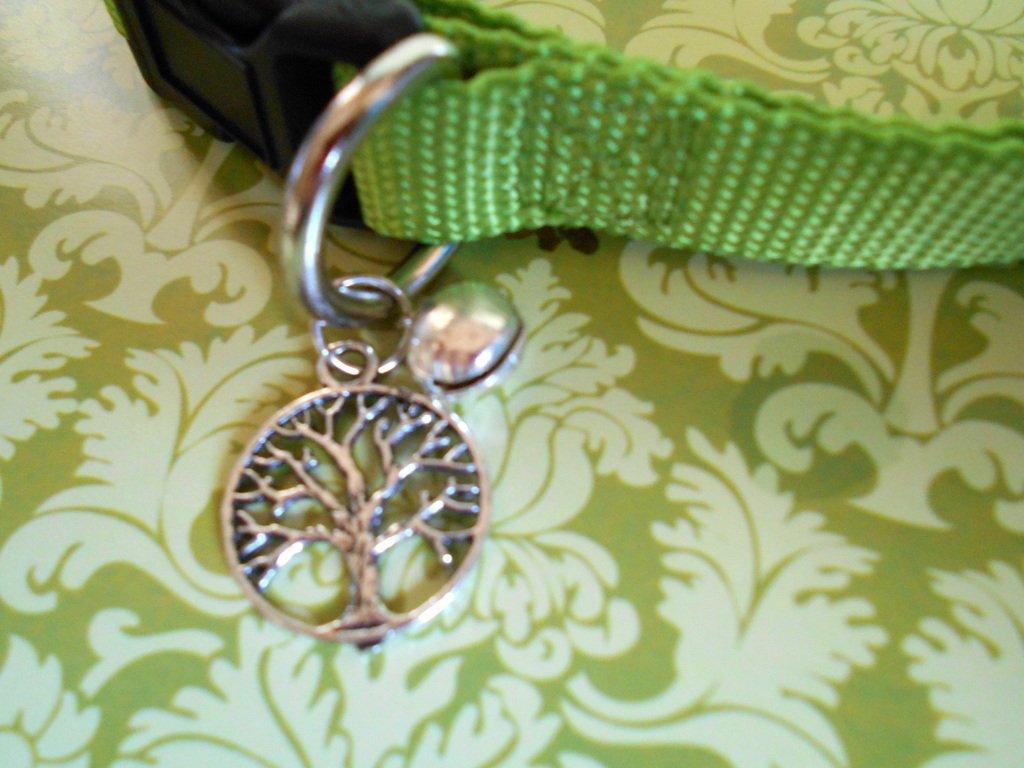 Tree of life, cat collar, familiar collar, witchcraft supplies