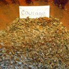 Herb Courage Incense loose herbal incense all natural organic herbs for spell work