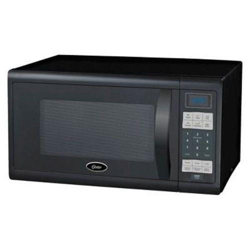 oster 1 3 cu ft 1100 watt microwave oven black ogzf1301. Black Bedroom Furniture Sets. Home Design Ideas