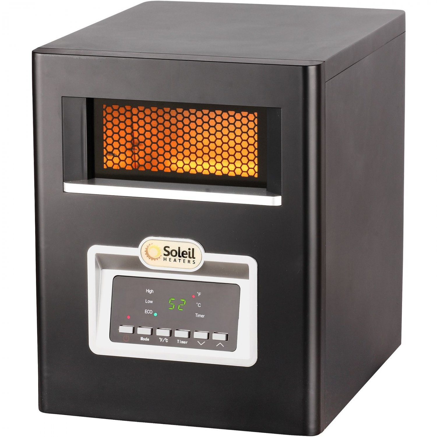 Soleil Electric Infrared Cabinet Space Heater 1500w Ph 91f