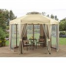 Better Homes and Gardens 12' x 12' Outdoor Gilded Grove Gazebo Multicolor