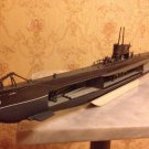 1:125 German U boat 47 WW2 complete model with interior