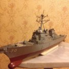 USS Arleigh Burke-class destroyer ship 1:350 complete model