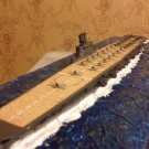 Japan Navy Taiho carrier class model 1:700 with diorama and wooden deck
