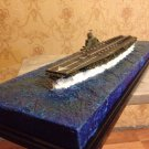 Japan Navy Shinano carrier class model 1:700 with diorama