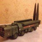 Iskander SS-26 Stone Russian short range ballistic missile 1:72 complete model