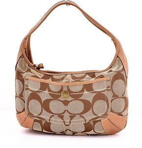 Coach 10764 Signature Ergo Hobo Shoulder Bag purse