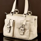 Coach 8A09 Soho Double Pocket satchel shoulder Bag Handbag
