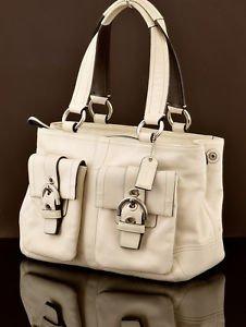 Coach 8A09 Soho Double Pocket satchel shoulder Bag Handbag