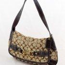 COACH Ergo Signature Belted Flap Shoulder Bag Purse 11277 $328