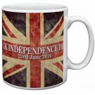 Brexit, British Flag Independence Day 2016 Coffee/Tea Mug Christmas Stocking Filler