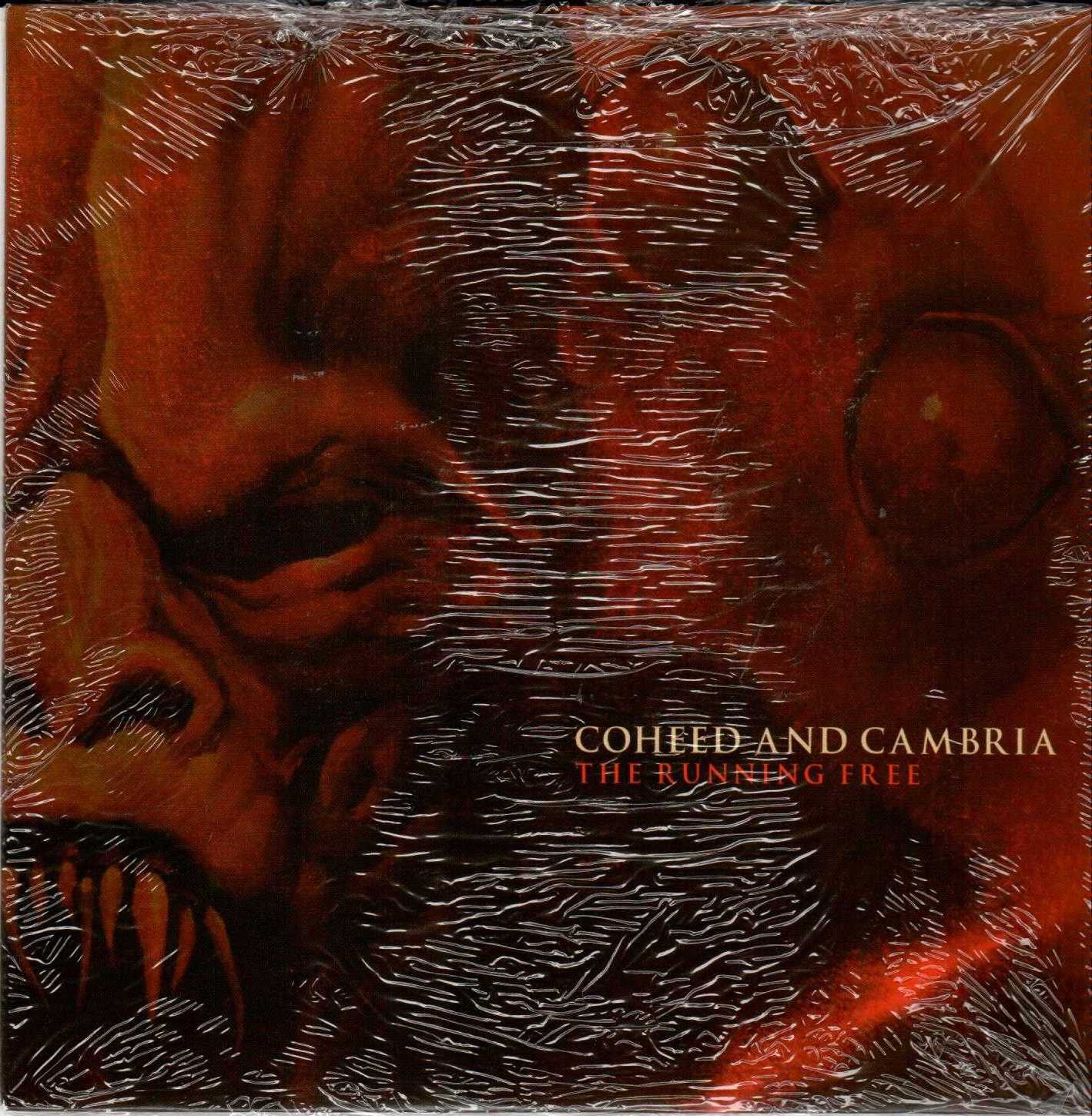 """COHEED AND CAMBRIA The Running Free 2007 US 2 Track Promotional 7"""" Vinyl Single"""