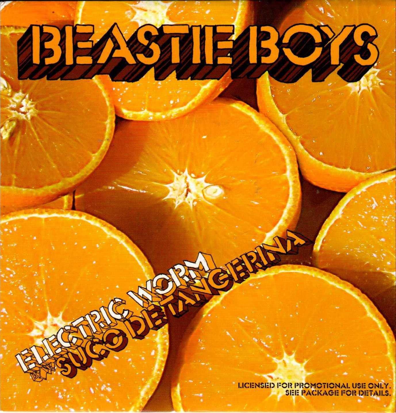 "BEASTIE BOYS Electric Worm 2007 US 2 Track Promotional 7"" Vinyl Single"