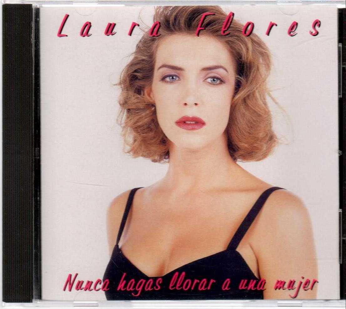 LAURA FLORES Nunca Hagas Llorar A Una Mujer 1995 US 10 Track CD Album