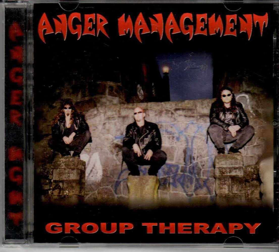 ANGER MANAGEMENT Group Therapy 1998 US 10 Track CD Album