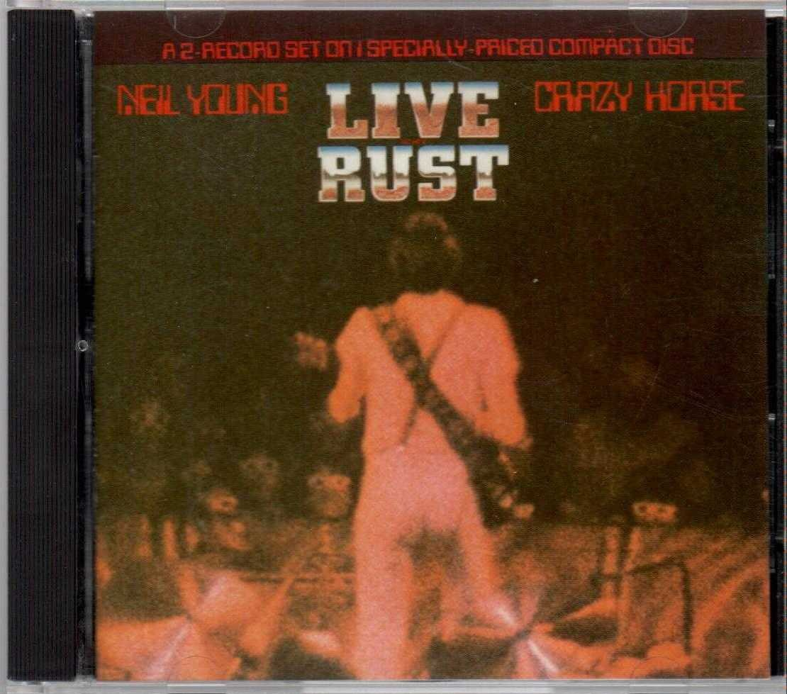 NEIL YOUNG & CRAZY HORSE Live Rust 1979 US 16 Track CD Album