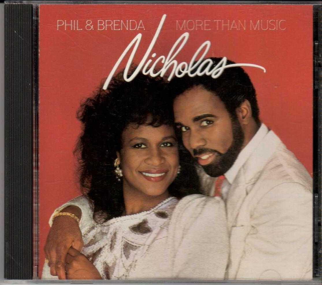 PHIL & BRENDA NICHOLAS More Than Music 1990 US 11 Track CD Album