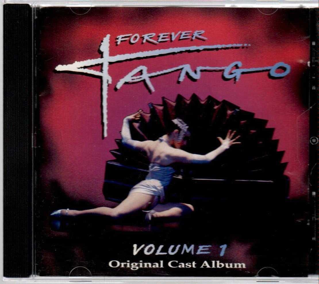 FOREVER TANGO Volume 1 Original Cast Album US 14 Track CD Album