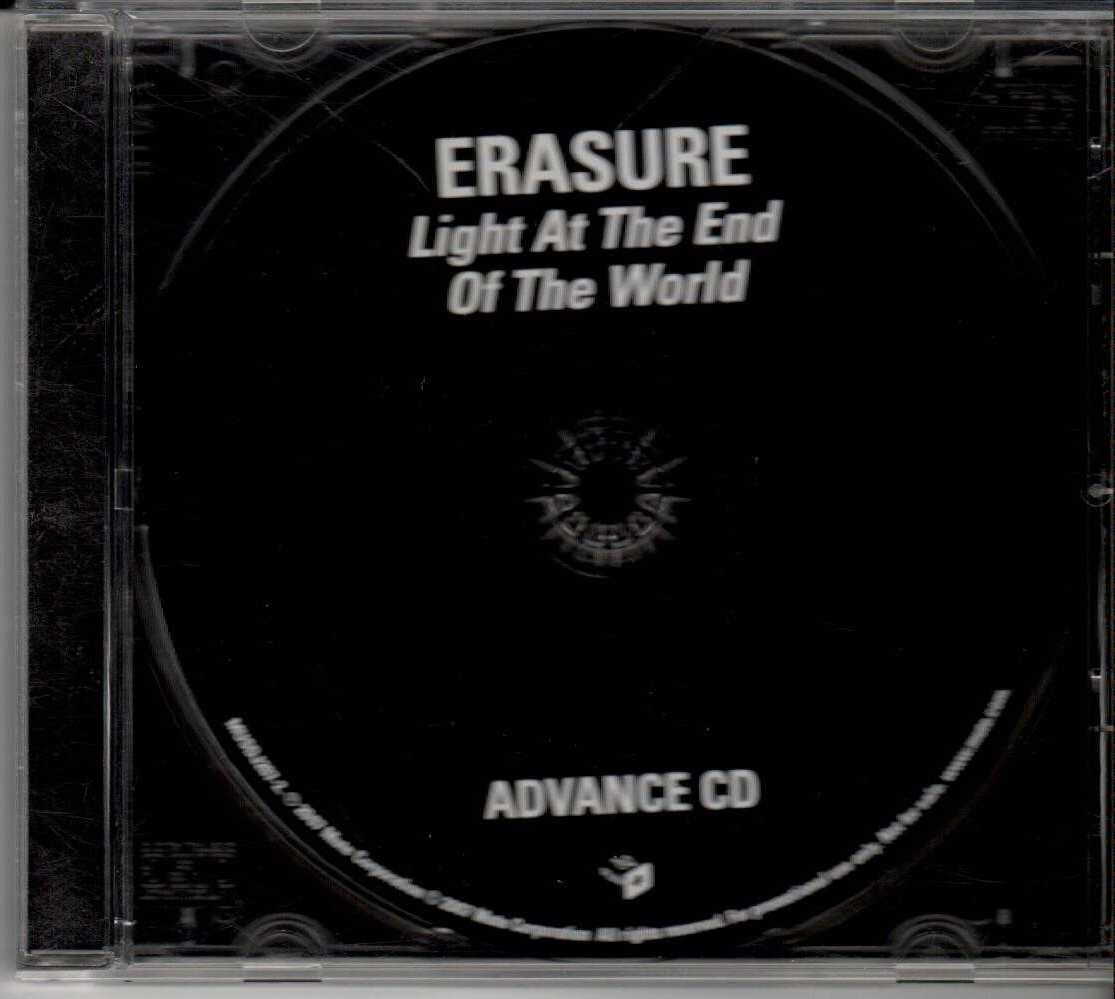 ERASURE Light At The End Of The World 2007 US 10 Track Promotional CD Album
