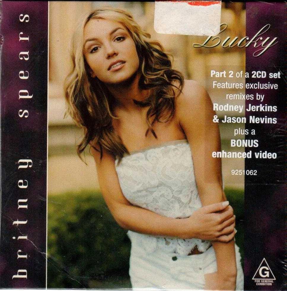 BRITNEY SPEARS Lucky 2000 Australian 6 Track Enhanced CD Single
