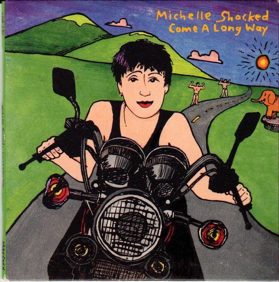 MICHELLE SHOCKED Come A Long Way 1992 US 4 Track Promotional CD Single