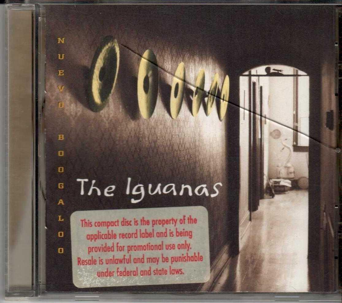 THE IGUANAS Nuevo Boogaloo 1994 US 13 Track Promotional CD Album