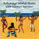 PUTUMAYO WORLD MUSIC 2004 Summer Sampler 2004 US 8 Track Promotional CD Various