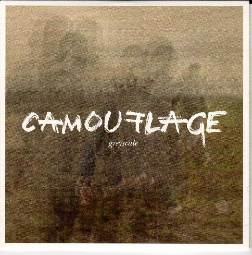 CAMOUFLAGE Greyscale 2015 European 12 Track Promotional CD Album