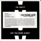 THE VANITY Are You Going Alone 2015 US 4 Track Promotional CD Album